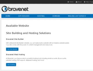 sylvestris.bravehost.com screenshot