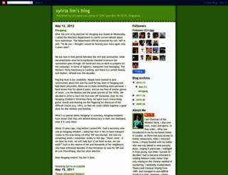 sylvialimsblog.blogspot.com screenshot