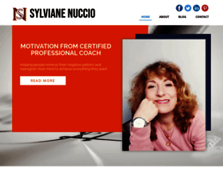 sylvianenuccio.com screenshot