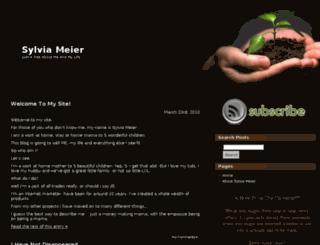 sylviarolfe.com screenshot