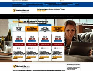 symantec-norton.com screenshot