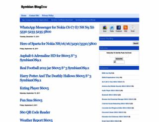 symbianapplicationsz.blogspot.com screenshot