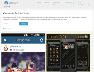 symbianstore.symbian-developers.net screenshot