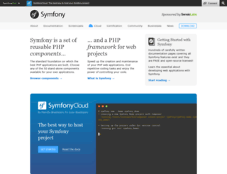 symfony-reloaded.org screenshot