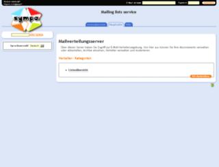 sympa.uvh-neugraben.de screenshot