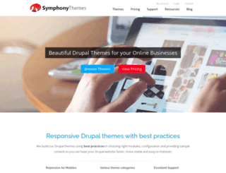 symphonythemes.com screenshot