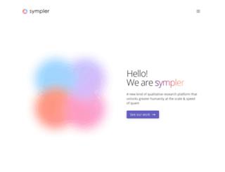 sympler.co screenshot