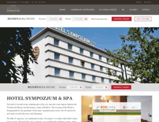 sympozjum.com.pl screenshot