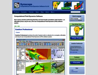 symscape.com screenshot