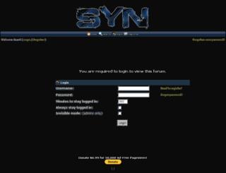 syn.conforums.com screenshot