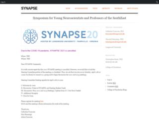 synapse.cofc.edu screenshot