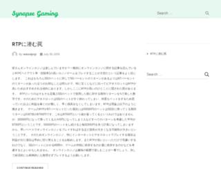 synapsegaming.com screenshot