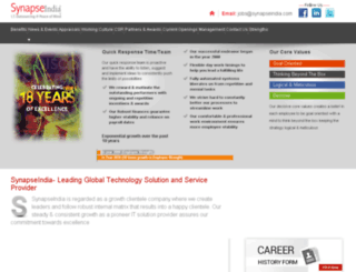 synapseindia.jobs screenshot