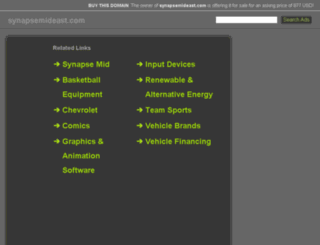 synapsemideast.com screenshot