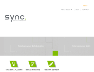 syncdigitalmarketing.com screenshot