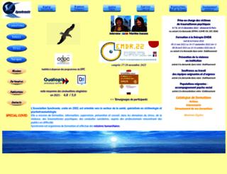 synchronie.org screenshot