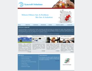 syncroft.com screenshot