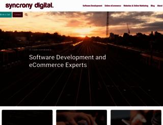 syncrony.com screenshot