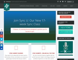 syncsummit.com screenshot