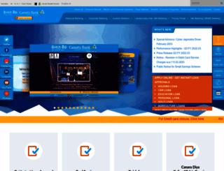 syndicatebank.in screenshot