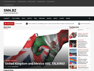 syndicatednews.net screenshot