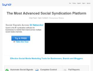 syndicationmasters.com screenshot