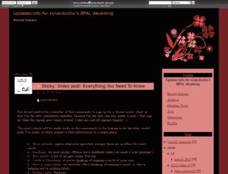 synecdochic-decants.dreamwidth.org screenshot