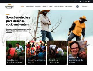 synergiaconsultoria.com.br screenshot