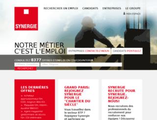 synergie-et-vous.eu screenshot