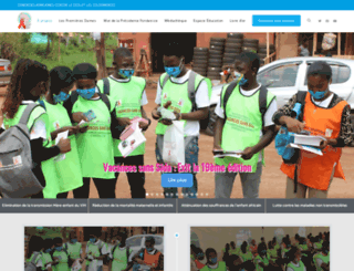 synergiesafricaines.org screenshot