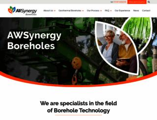 synergyboreholes.co.uk screenshot