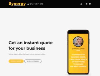 synergybusinessmobiles.com screenshot