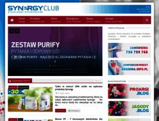 synergyclub.pl screenshot