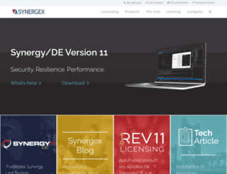 synergyde.com screenshot