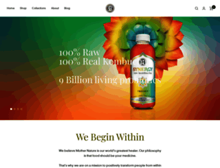 synergydrinks.com screenshot