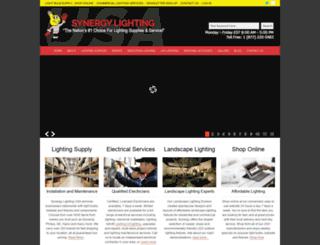 synergylightingusa.com screenshot