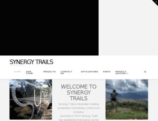 synergytrails.com screenshot