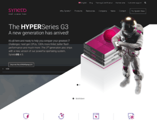 syneto.net screenshot