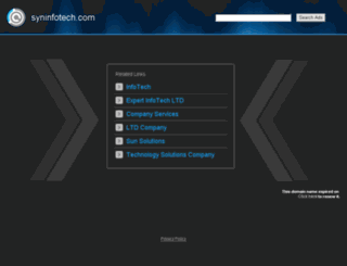 syninfotech.com screenshot