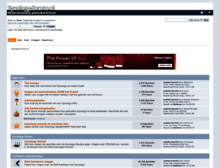 synology-forum.nl screenshot
