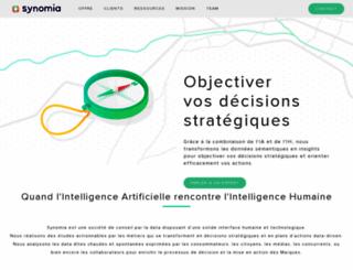 synomia.fr screenshot