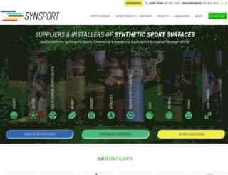 synsport.co.za screenshot