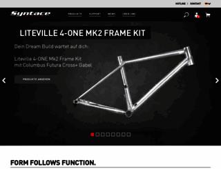 syntace.com screenshot