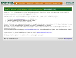 syntelcampus.com screenshot