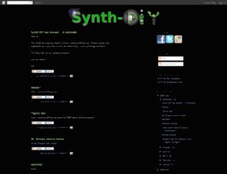 synth-diy.blogspot.com screenshot