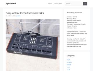 synthfind.com screenshot