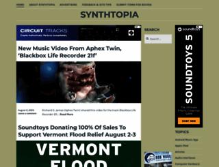 synthtopia.com screenshot