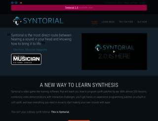 syntorial.com screenshot