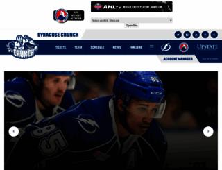 syracusecrunch.com screenshot