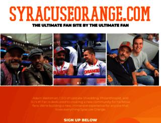 syracuseorange.com screenshot